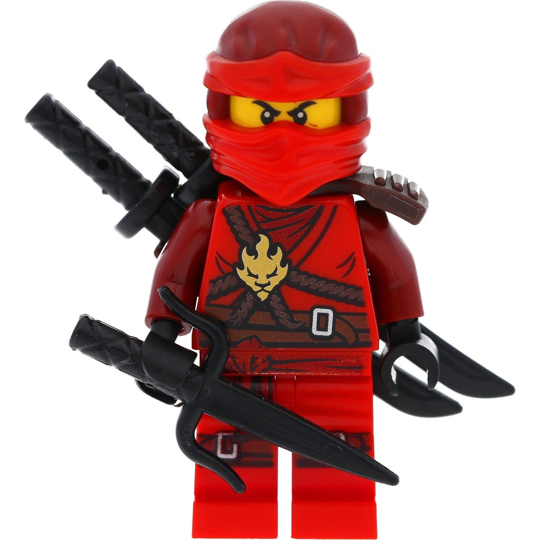 lego ninjago mini figure kai from the set 70595 incl 3 galaxyarms weapons ebay. Black Bedroom Furniture Sets. Home Design Ideas