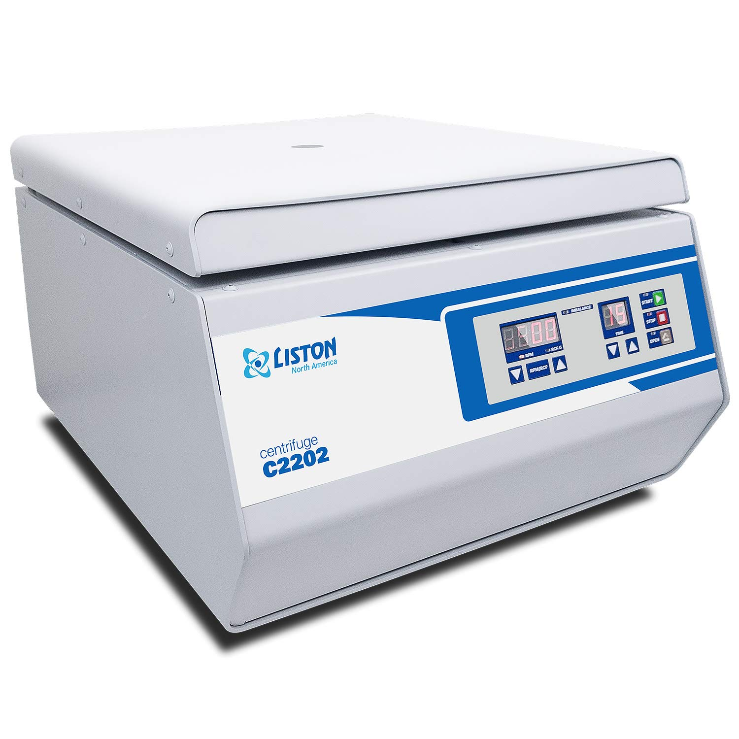 Medical Liston C2202 Benchtop Centrifuge with 4 x 90ml Tube Rotor for Clinical Research Laboratory and Platelets Rich Plasma PRP 3500RPM or 2130RCF