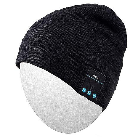 Qshell senza fili Bluetooth Cuffia Musica Beanie Mens delle donne inverno  Cappellino d avanguardia con 5bcd05a4aaa3