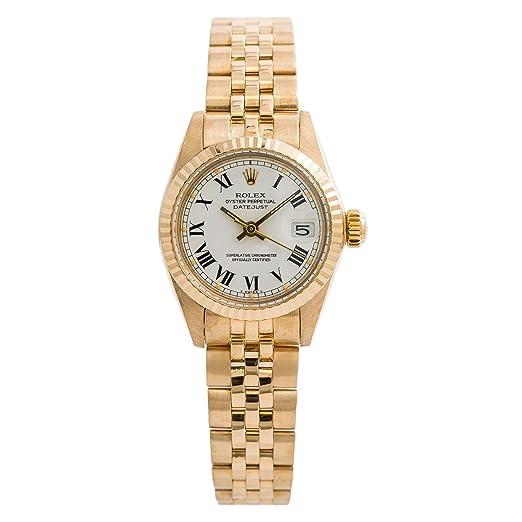 Rolex Datejust Automatic-Self-Wind 6917 - Reloj de Pulsera para Mujer: Rolex: Amazon.es: Relojes