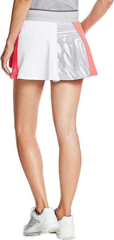 adidas Skort Falda pantalón, Mujer, Rojo (rojdes/oysgre/Blanco ...