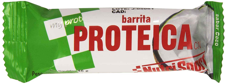 NutriSport Barrita Proteica, Sabor a Coco - 46 g: Amazon.es: Amazon Pantry