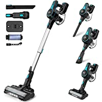 INSE Stick Vacuum Cleaner Cordless, 2 in 1 Upright Handheld Vac Portable&Lightweight Bagless Electric Broom - for Pet…