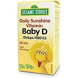 Sesame Street by Webber Naturals, Baby Vitamin D3 Drops, Liquid 400 IU, 10 mL