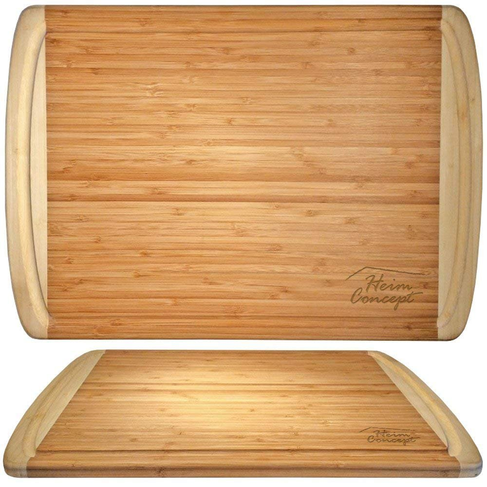 Heim Concept CB1-NA hc-cb1-na cutting board Side to Side: 12'' Brown by Heim Concept