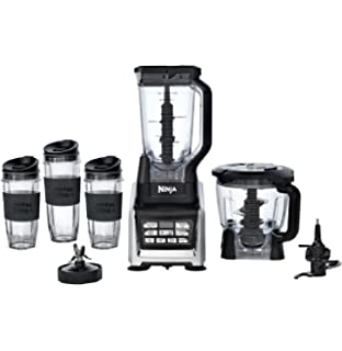NEW Nutri Ninja BL680A Auto IQ 1500 Watts Duo Nutrient Extraction Blender  System