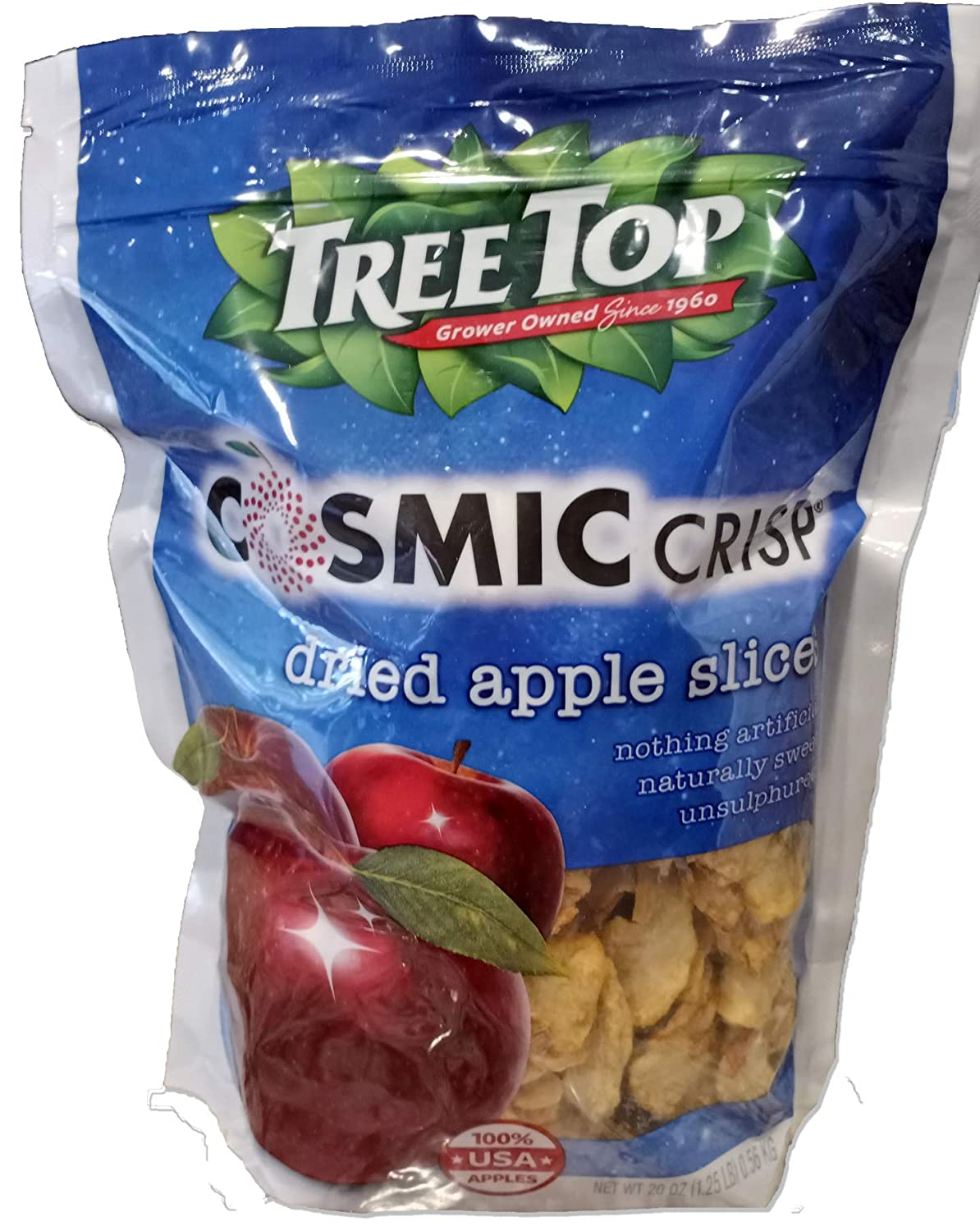 Tree Top Cosmic Crisp - Dried Apple Slices - Made with 100% USA Apples
