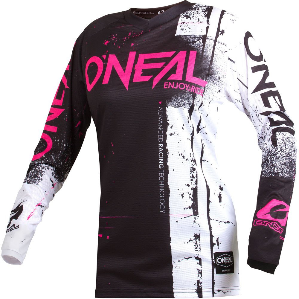 Pants Women 9//10 // Jersey Large ONeal Element Women Shred Pink motocross MX off-road dirt bike Jersey Pants combo riding gear set