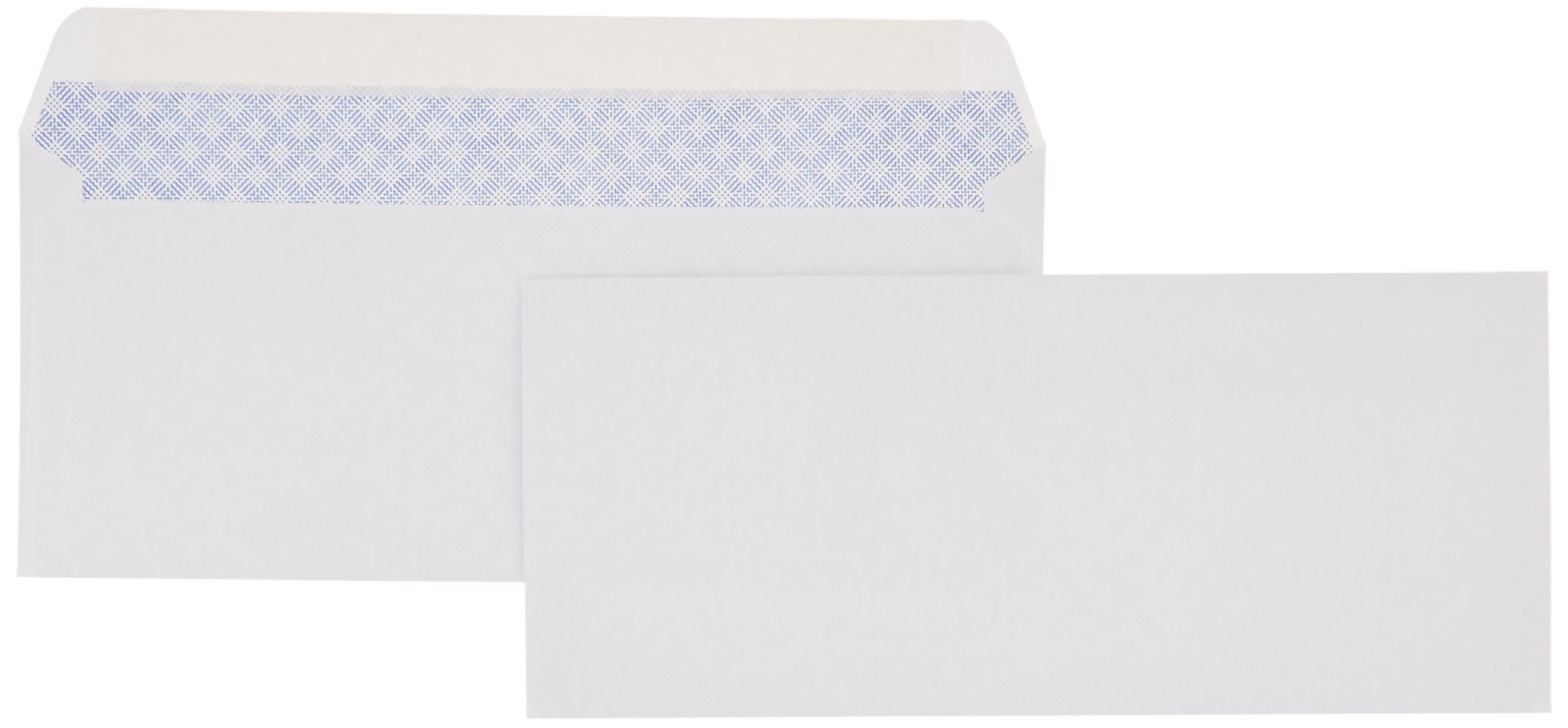 AmazonBasics #10 Security-Tinted Envelope, Peel & Seal, White, 500-Pack