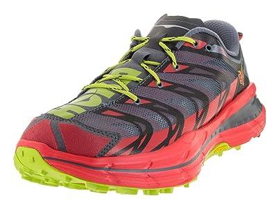 Hoka One One Speedgoat Running Shoe - Men's Bright Red/Black 7