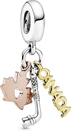 Buy PANDORA Love Canada Canadian Icons 925 Sterling Silver Charm ...