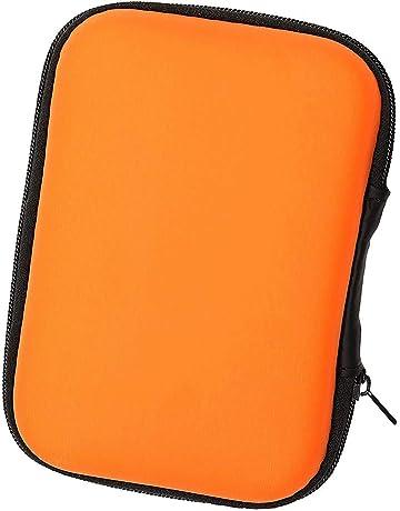 LUCKLYSTAR Funda para Auriculares Mini Bolsa Almacenamiento Rígida, Coleccion Cremallera Zipper Cubierta Bag Caja Estuche