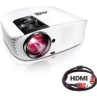 Videoproiettore full hd, Artlii Proiettore LED 3500 Lumen, con AV/VGA/USB/HDMI/TF, Home Entertainment per Films/ Videogiochi