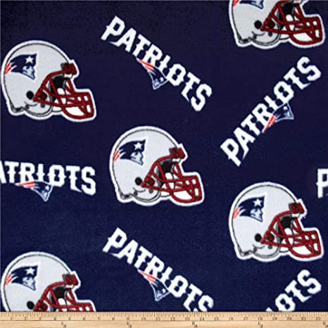 New England Patriots Football Fleece Scarf