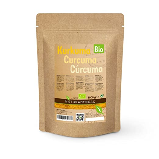 26 opinioni per Curcuma In Polvere Bio Prodotto Biologico 1000g (1 x 1kg) di NATURACEREAL