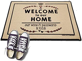 product image for Wine-Fi Password - HIGH COTTON Welcome Doormat