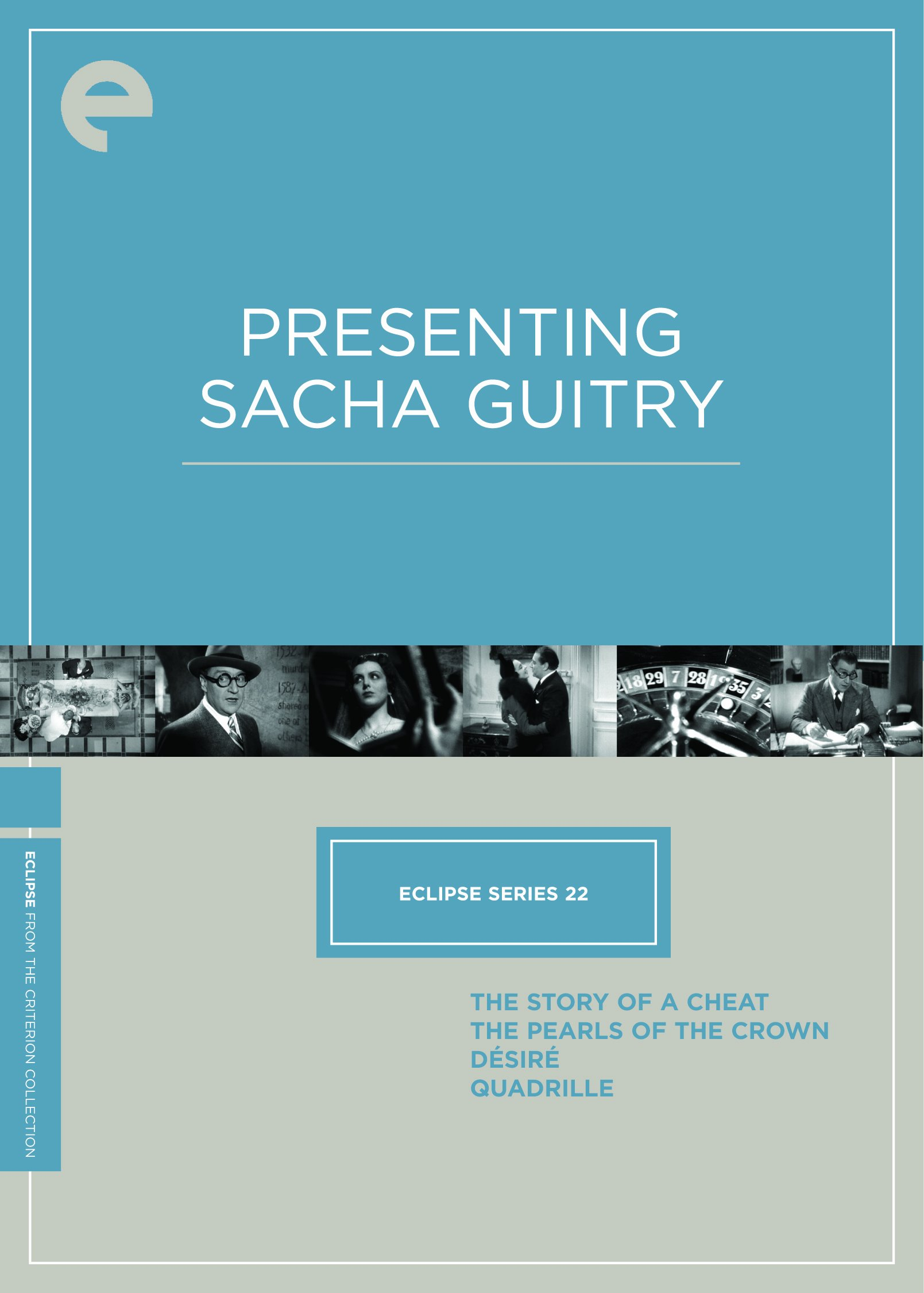 Eclipse Series 22: Presenting Sacha Guitry (The Story of a Cheat / The Pearls of the Crown / Desire / Quadrille) (The Criterion Collection)