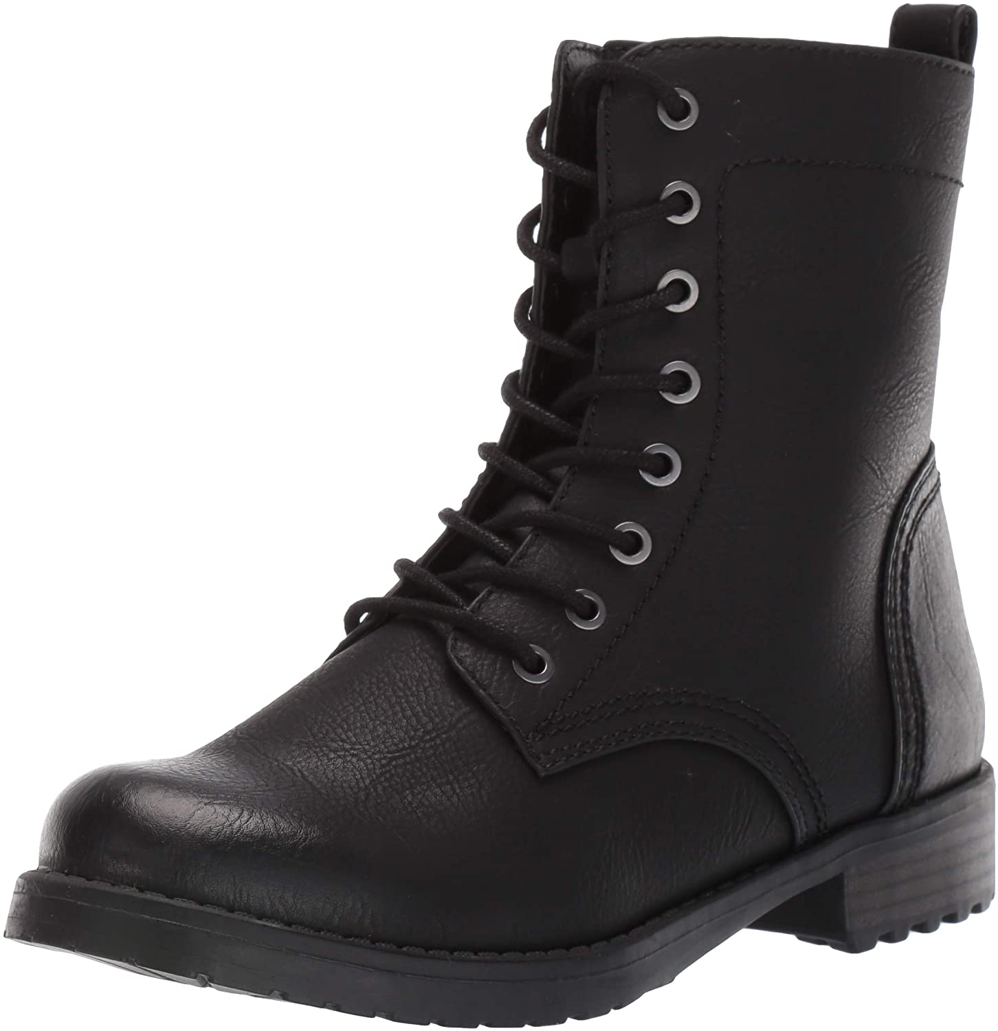 Female Black Combat Boots