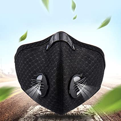 Dealpeak Cycling Face Mask Sport Bike Activated Carbon Dustproof Windproof Respirator With Filter Breathable Face Shield Anti Pm 2 5 For Running Cycling Outdoor Exercises Accessories Amazon Canada