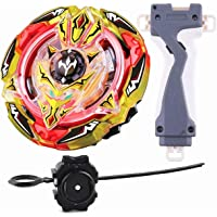 Gyro Battling Top Beyblade Burst B-103 Screw Trident.8B.WD Stamina Booster Top Pack Spinning with Launcher