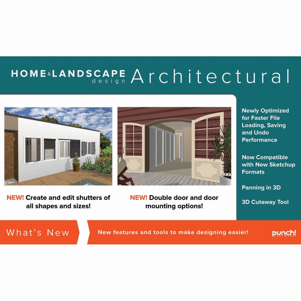 Punch Home Landscape Design Architectural Series V19 Home Design Software For Windows Pc