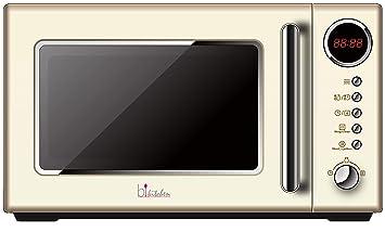 bkitchen Cook 815 - Microondas Retro (700 W, 20 litros, 5 ...