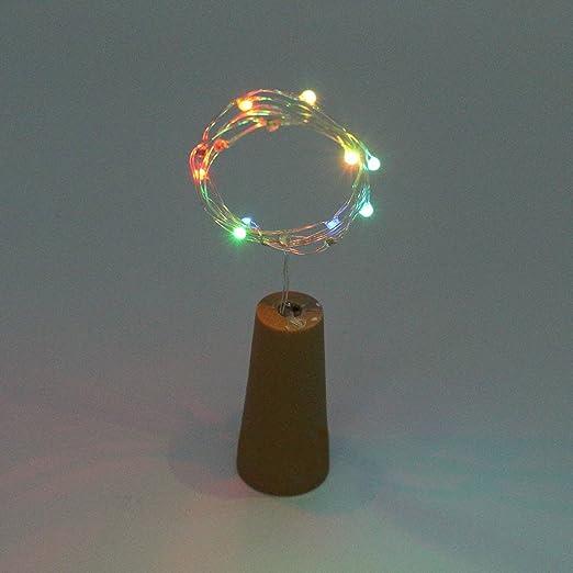 pinnaclet1 Spark luces para botella de vino corcho forma Striping ...
