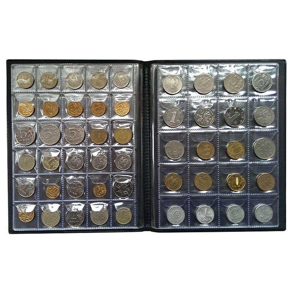 LIOOBO 250 Monedas en los Bolsillos Monedero Colección ...