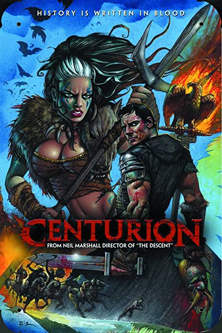 UK Movie Centurion Ver7 pelicula metal poster cartel ...