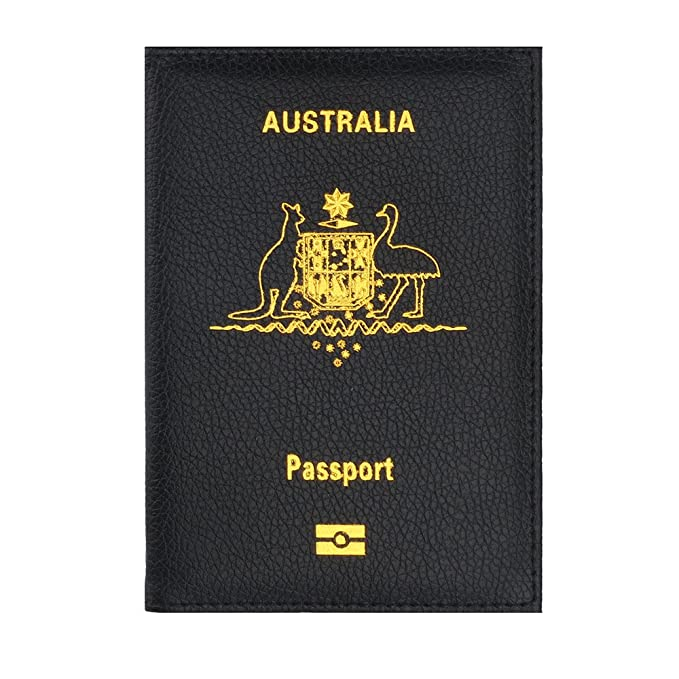 Amazon.com: Australia Funda para pasaporte en relieve ...