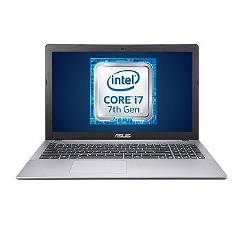 ASUS Notebook, Pantalla de 15,6 Pulgadas Full HD, Intel Core i7 – 7700HQ, Tarjeta gráfica NVIDIA GeForce GTX 950M de 2 GB, Gris RAM da 8 GB/Hard Disk ...