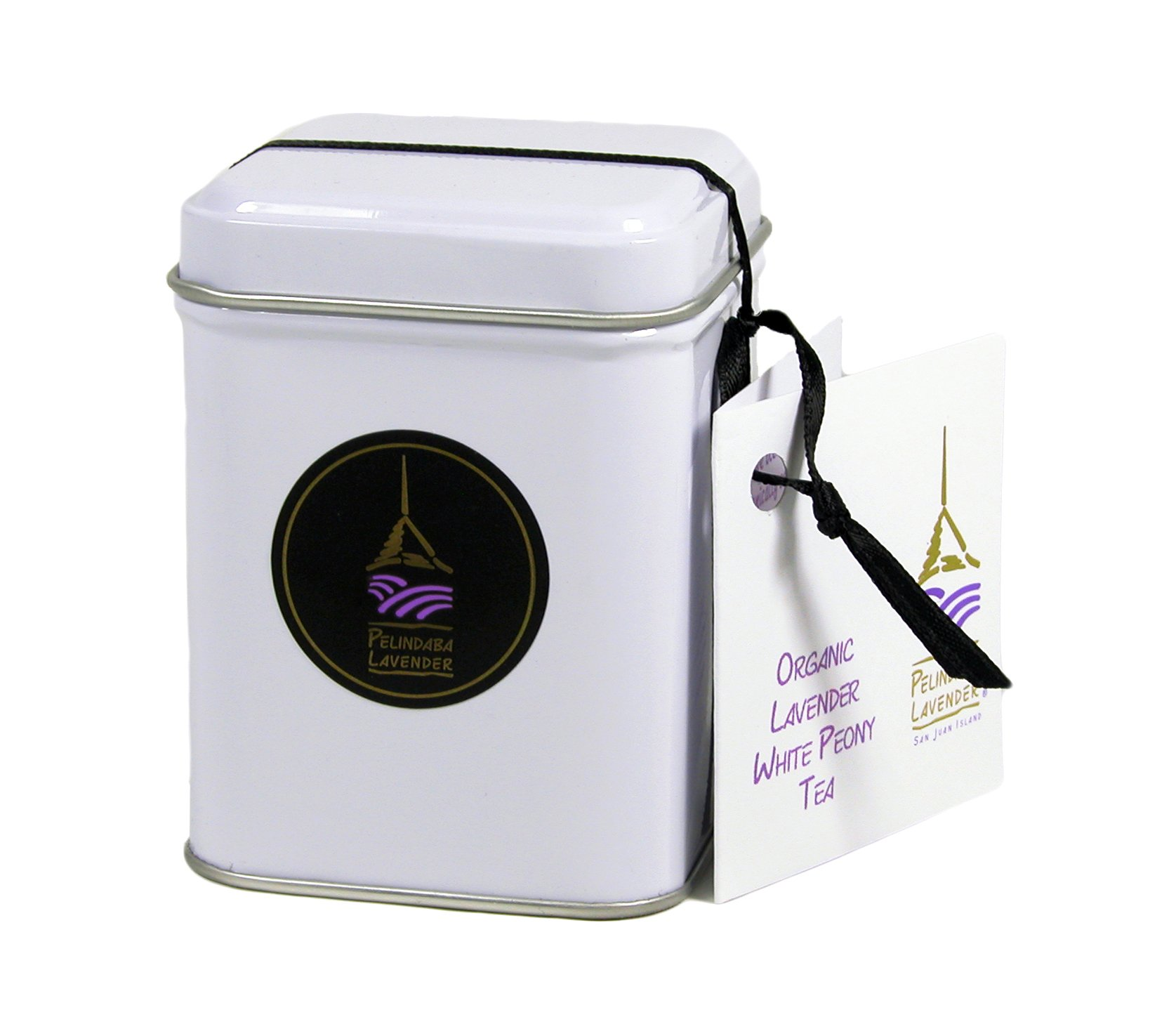 Pelindaba Lavender Organic Lavender White Tea - 8oz by vol by Pelindaba Lavender