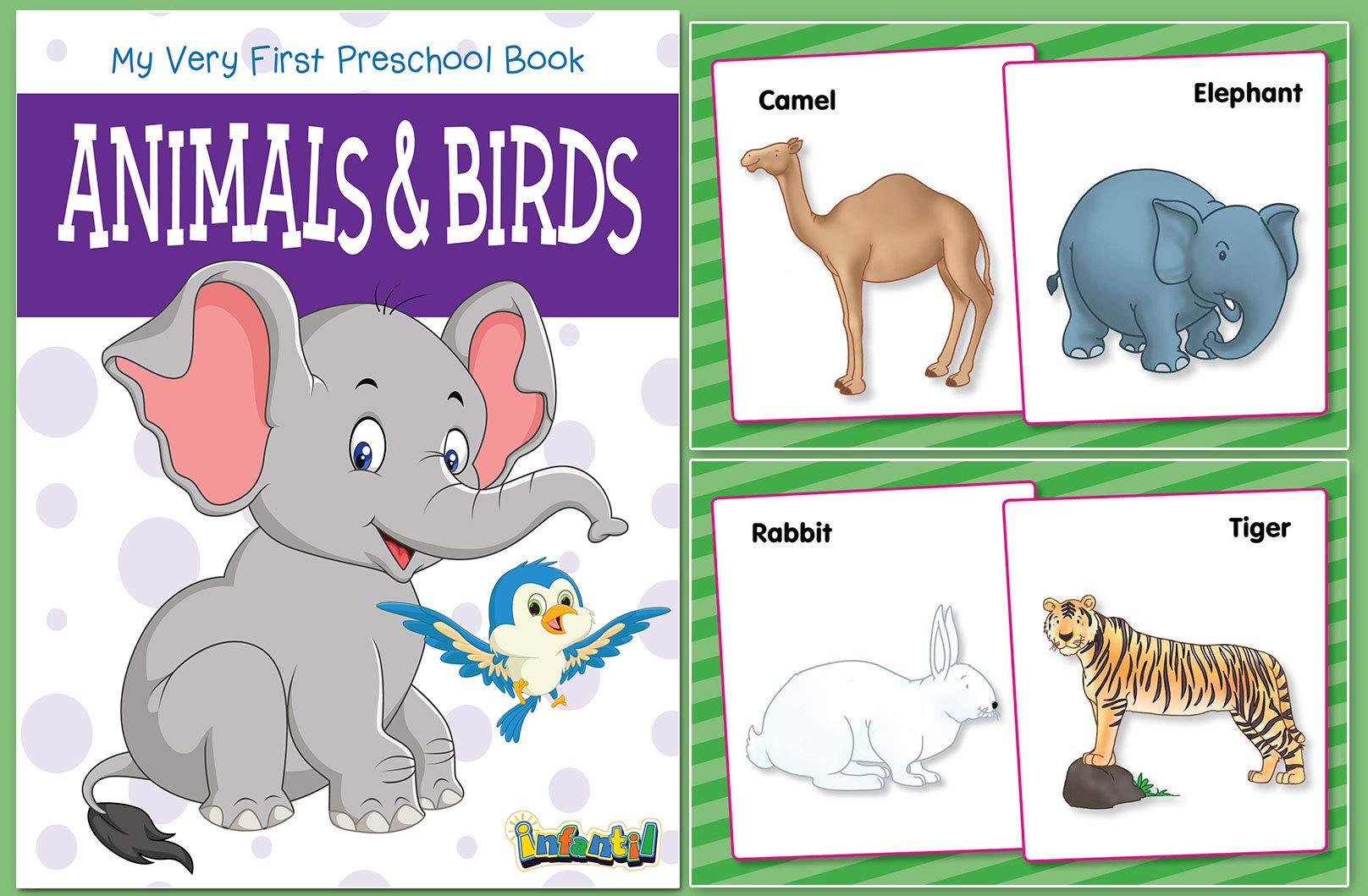 Animals & Birds (My Very First Preschool Book)