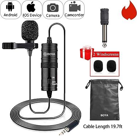 Amazon Com Boya By M1 Microfono De Condensador De Lavalier