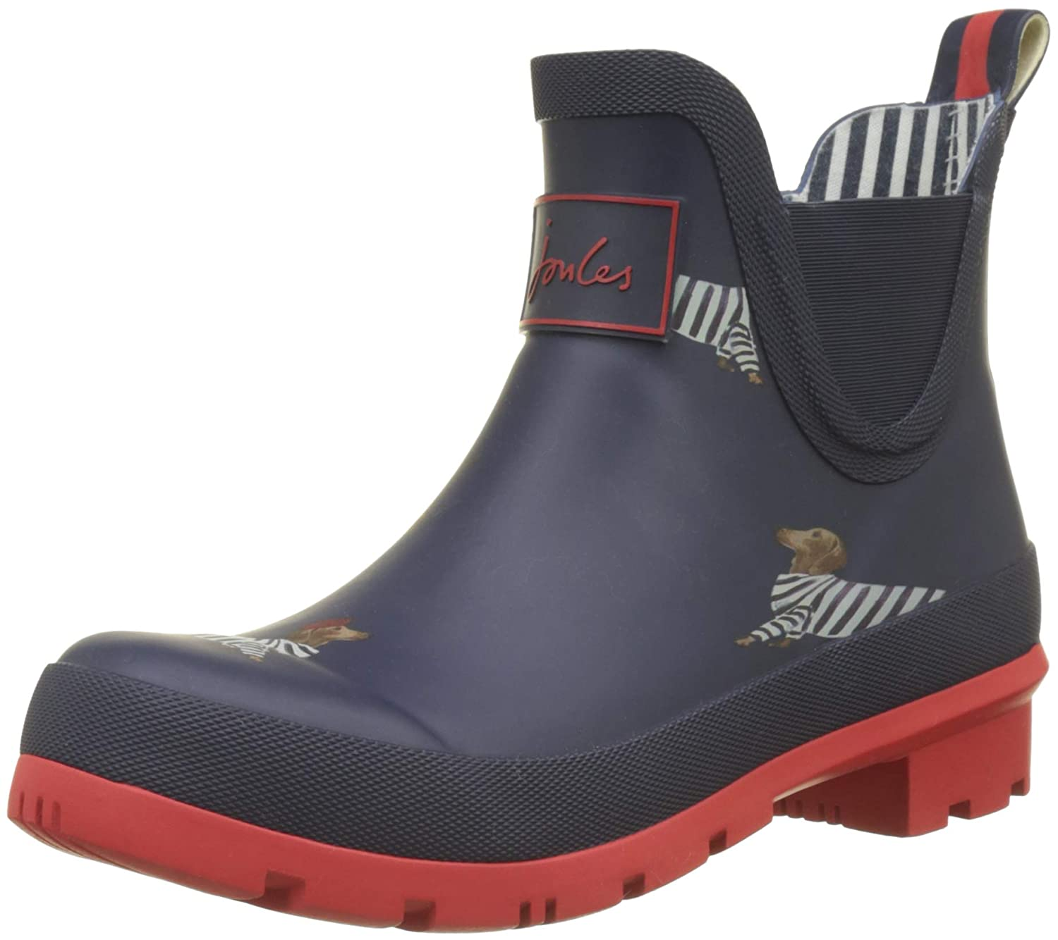 Joules Fnvdach) Wellibob, Bottes Bottes Classiques Cheville Navy Femme Bleu (French Navy Dachshund Fnvdach) 3869699 - shopssong.space