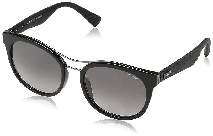 Police Sparkle 3, Gafas de Sol para Mujer, Negro (Shiny Black),
