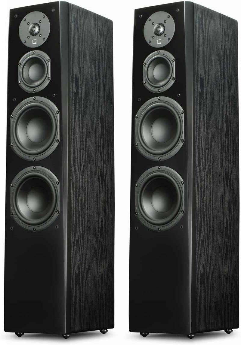 SVS Prime Tower Speaker Black Ash Pair