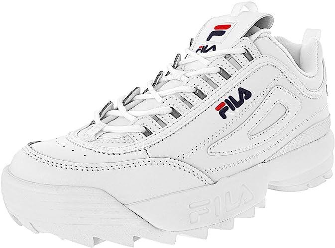 Fila Disruptor Ii Premium Mädchen Sneaker Weiß