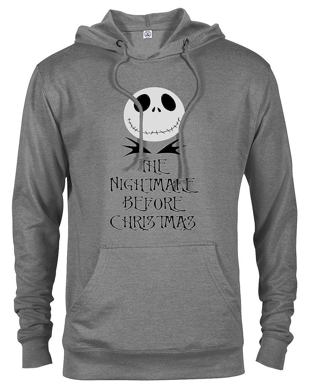 GotApparel Men\'s Nightmare Before Christmas Printed Hoodie at Amazon ...