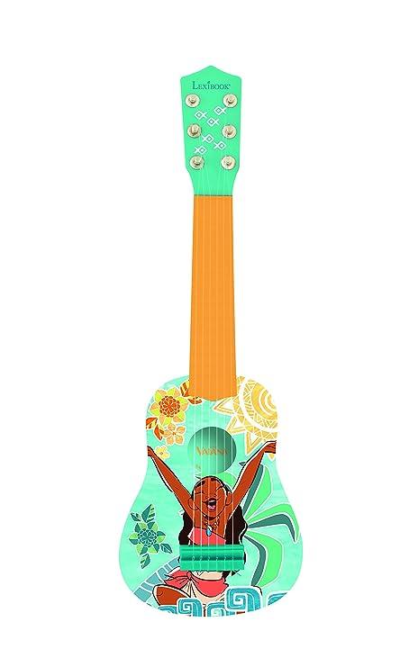 Vaiana Disney Primera Guitarra, 6 Cuerdas, 53 cm de Largo, Juguete niña a