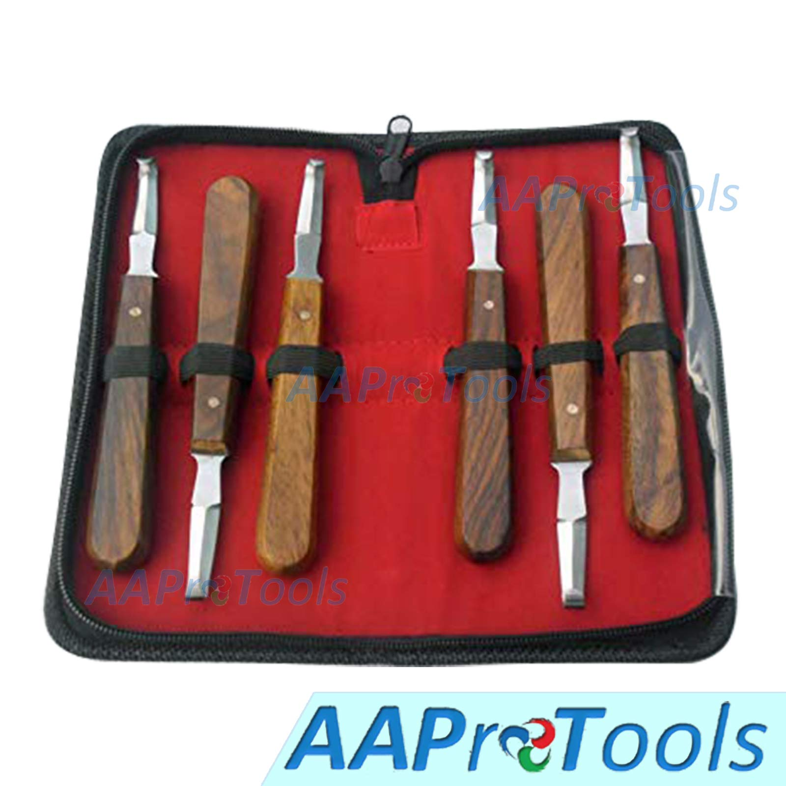 AAProTools 6 Farrier Hoof Knives Equine Horse Knife by AAProTools