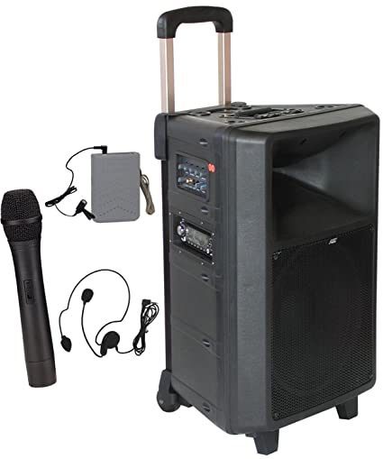 Audio2000 All-In-One Portable Wireless PA System