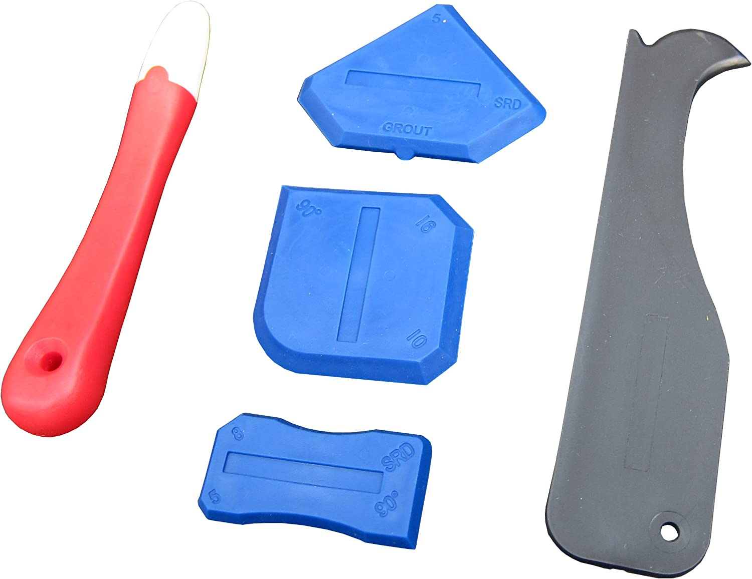 Silicone Sealant Tools Spreader Finishing Scraper Grout Caulk Remover Smoothing