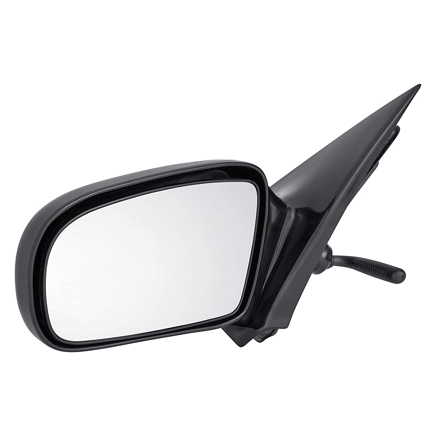 Non-Heated Manual for 1995-2005 Chevrolet Chevy Cavalier GM1321168 Pontiac Sunfire Sedan Roane Concepts Replacement Right Passenger Side Door Mirror