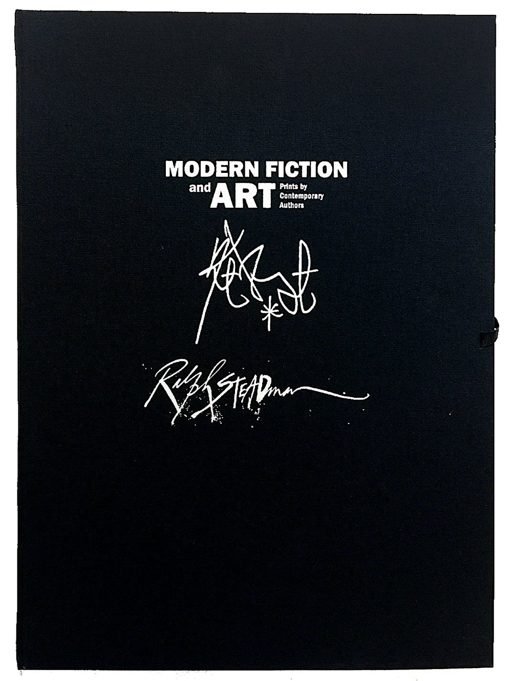 modern fiction and art prints by contemporary authors kurt vonnegut ralph steadman portfolio of two signed prints and a signed catalogue