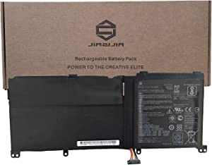 JIAZIJIA C41N1524 Laptop Battery Replacement for Asus ZenBook G60V N501JW-1A N501JW-1B N501JW-2A N501JW-2B N501VW N501VW-2B UX501JW Series Notebook X55LM2H Black 15.2V 60Wh 3950mAh