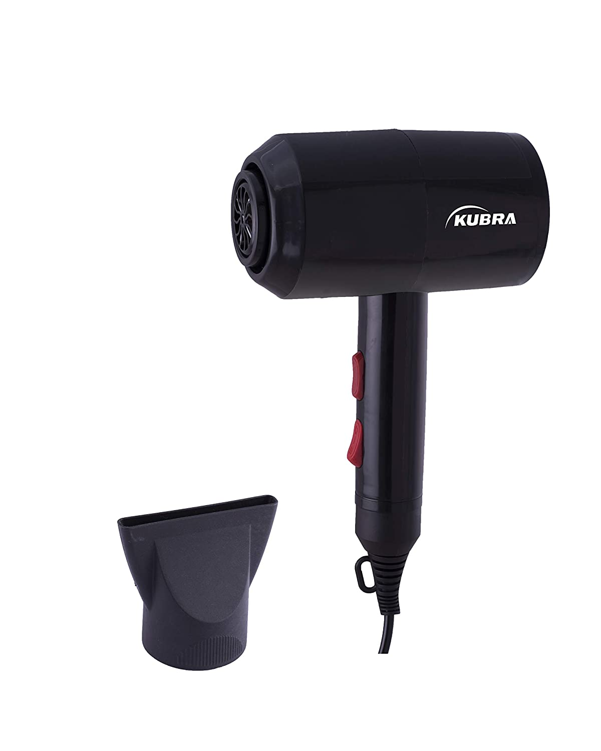 Kubra KB-153 Hair Dryer 1800W Hot and Cold (Black)