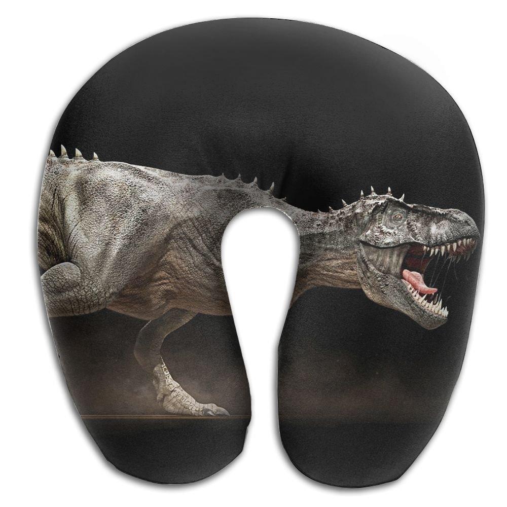 クリエイティブ動物恐竜デザインの快適U型首枕ソフトネックサポートパターンの枕残り、旅行、車、飛行機、ベッド、ソファー B079R9HQCJ