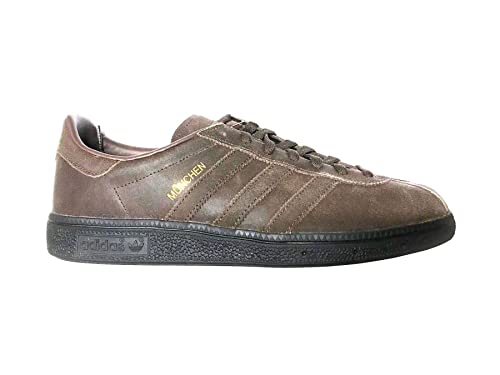 check out b5296 4e55f adidas Originals Munchen Mens Trainers CQ1789 Brown