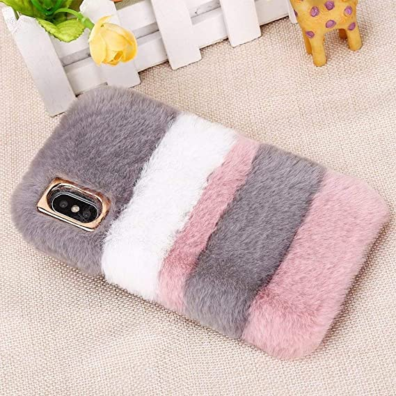 iphone xs case fluffy